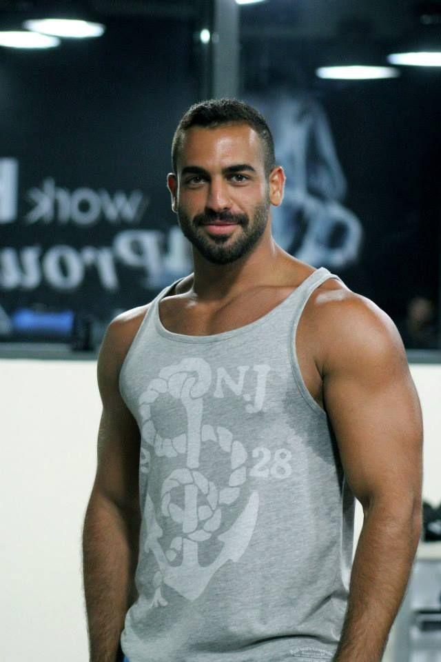 image Arab lebanon man with ebony girl
