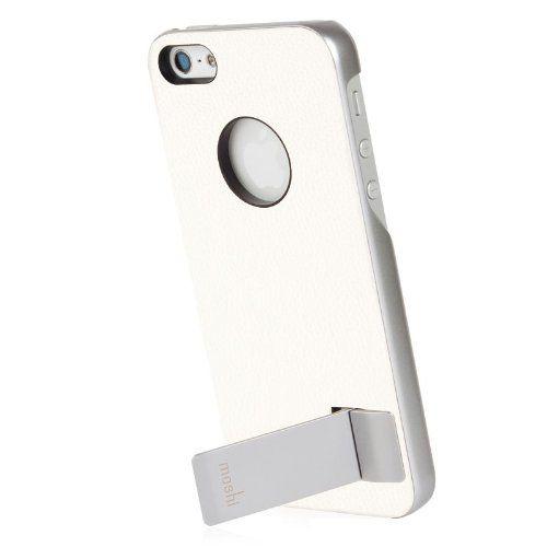 Moshi iGlaze Kameleon Designer HardShell Case with KickStand for iPhone 5 (White) Moshi,http://www.amazon.com/dp/B00ABULXGO/ref=cm_sw_r_pi_dp_DjMWsb1GNCCTMZJZ