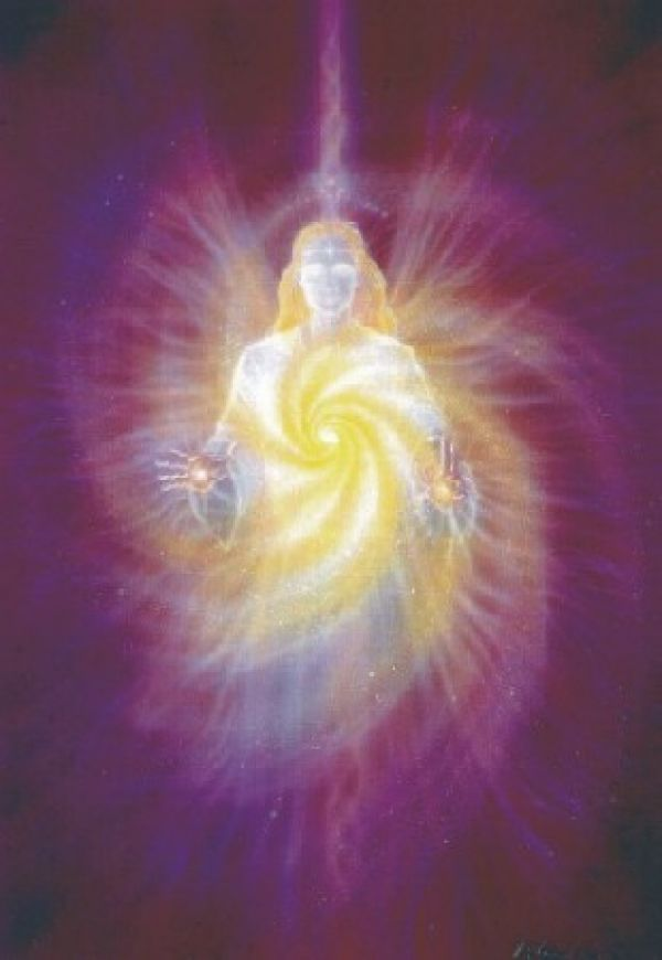 Healing light from an angel