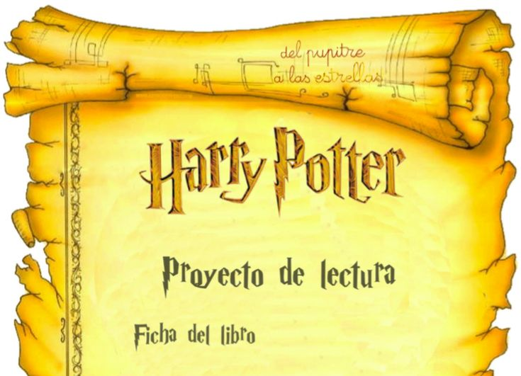 Proyecto: El mundo de Harry Potter | del pupitre a las estrellas