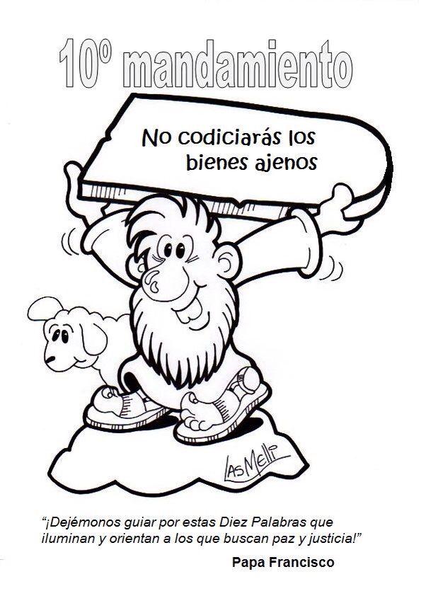 11 best Los Diez Mandamientos images on Pinterest | Ten commandments ...