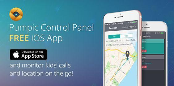 Pumpic Control Panel App