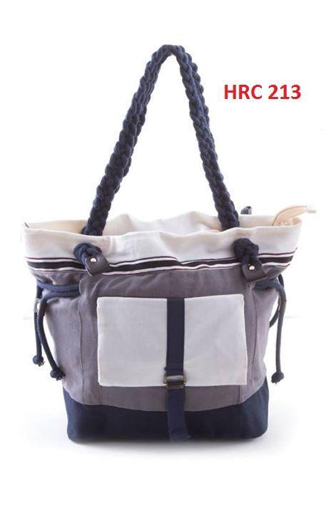 Jual Bags for Female Grey 32X13 Cm Canvas HRC 213 - Gudang Fashion Pria | Tokopedia