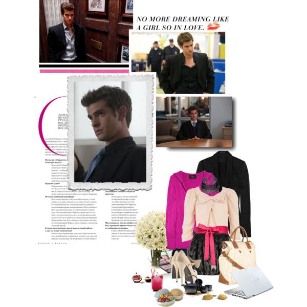 25/50 Andrew Garfield as Eduardo Saverin in The Social Network by martasmiling on Polyvore featuring Louche, N.Peal, Alexander Wang, See by Chloé, Repossi, Meredith Wendell, Echo Design, Laura Geller, Sony and mark.