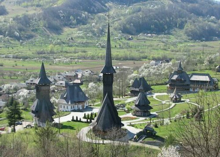 The wooden churches of Maramures, transylvania