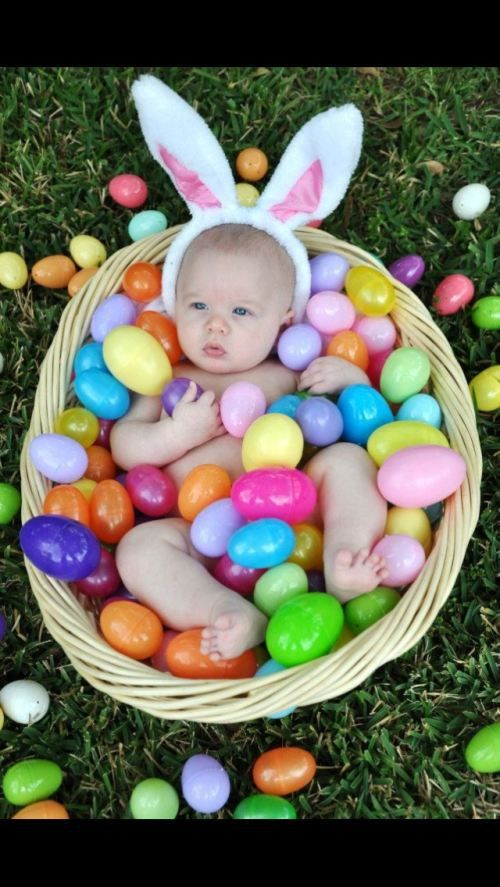 easter babies6 Easter babies that will melt your heart (22 photos)