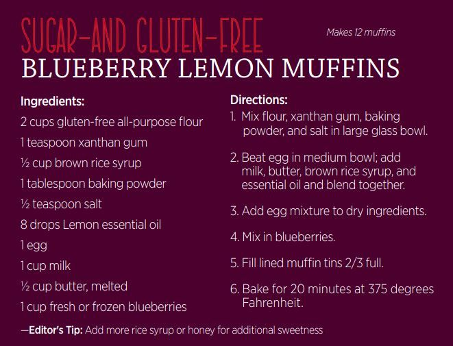 The 70 best doterra fooddrinks images on pinterest doterra sugar gluten free blueberry lemon muffins using doterra essential oils mydoterradebfriesen forumfinder Gallery