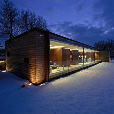 Dezeen » Blog Archive » The Long Barn Studio by Nicolas Tye Architects