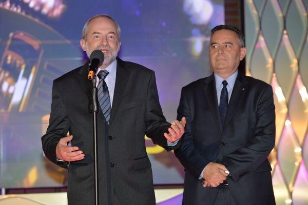 Prezes TVP Juliusz Braun i wiceprezydent Opola Krzysztof Kawałko (fot. Ireneusz Sobieszczuk/TVP)