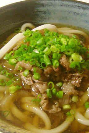 niku-Udon 肉うどん 〜関西風〜