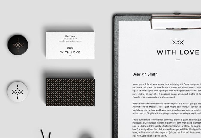 With Love project Brand — Chris Roberts