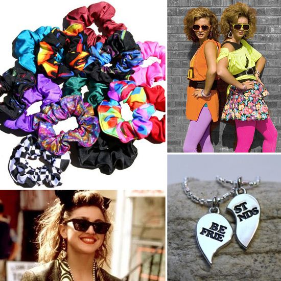 50 Totally Rad Trends From the '80s and '90s | Fashion ... - photo #35