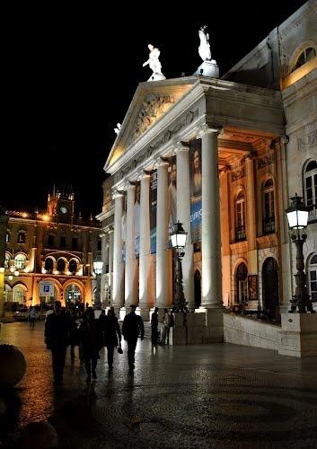 Portugal Lisbon District ~ Santa Justa National Theatre D. Maria II by Mircea_Raicu