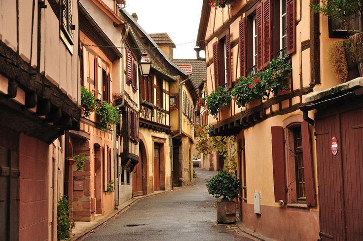 In het hart van de Elzas ligt het mooie stadje Ribeauvillé. Foto: Flickr/André P. Meyer-Vitali