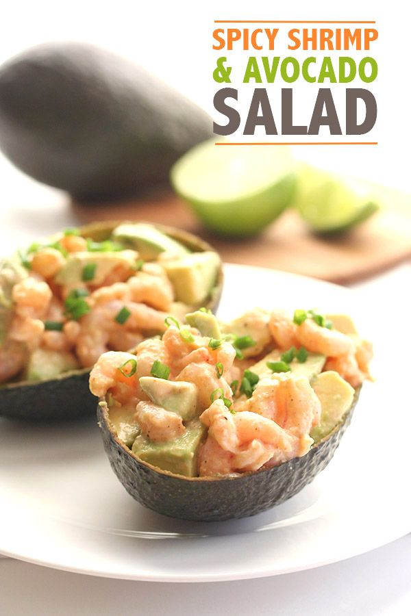 Click on the to know more! Spicy Low Carb Shrimp Avocado Salad. Keto THM LCHF Banting Atkins recipe