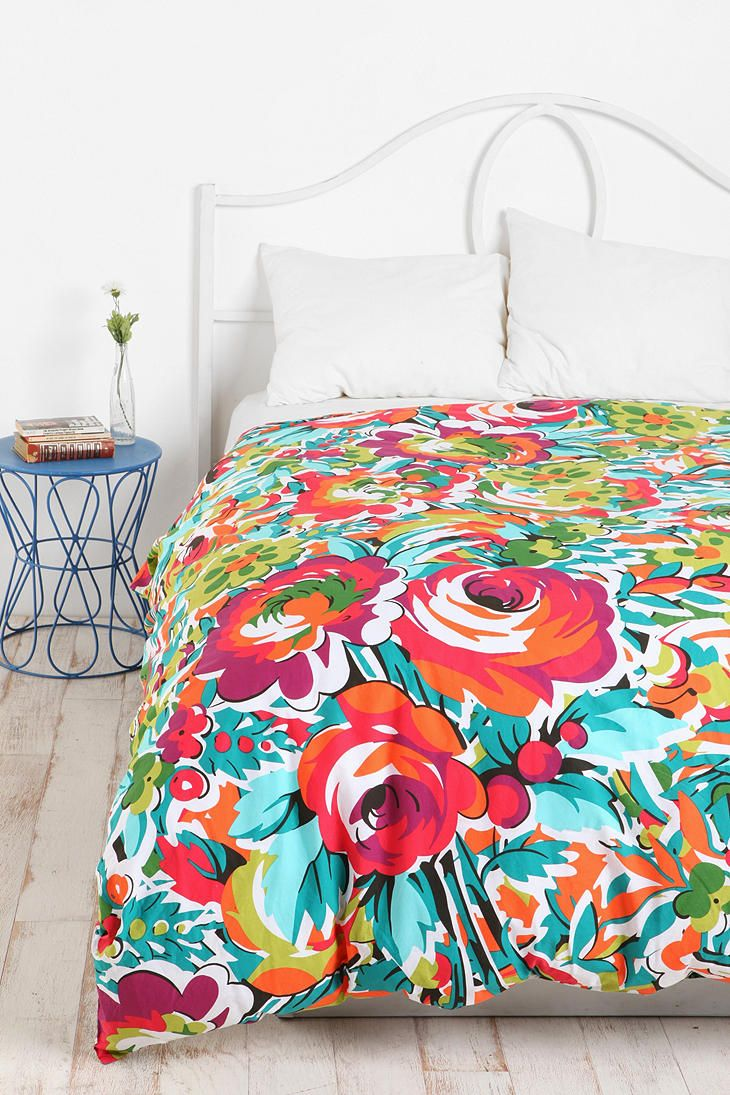 bouquet duvet cover bedroom pinterest urban. Black Bedroom Furniture Sets. Home Design Ideas