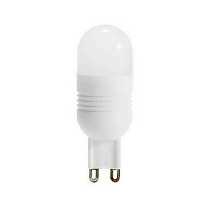 Keramická LED žiarovka - POCKETMAN - G9, 3W, Teplá biela s 11 SMD 3014 LED čipmi dokáže svietivosťou nahradiť halogénovú alebo klasickú žiarovku
