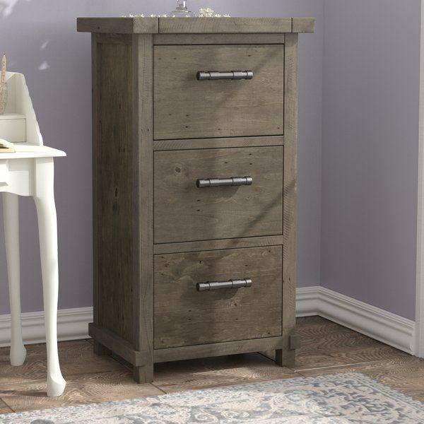 You Don T Have To Store Your Documents And Papers In A Drab Office Unit With This Farmhouse Chic Vertical F Filing Cabinet Sleek Cabinet Drawer Filing Cabinet