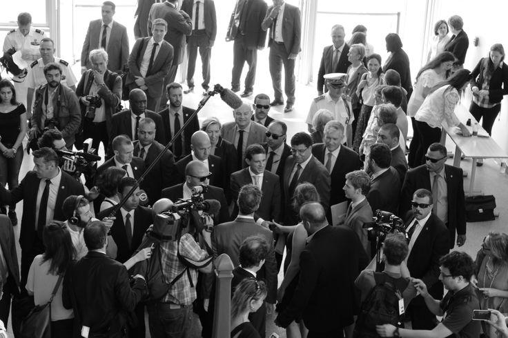 Inauguration du LFC le 11 octobre 2015 par le 1er ministre, Manuel VALLS. (Photos, Marie Girod)