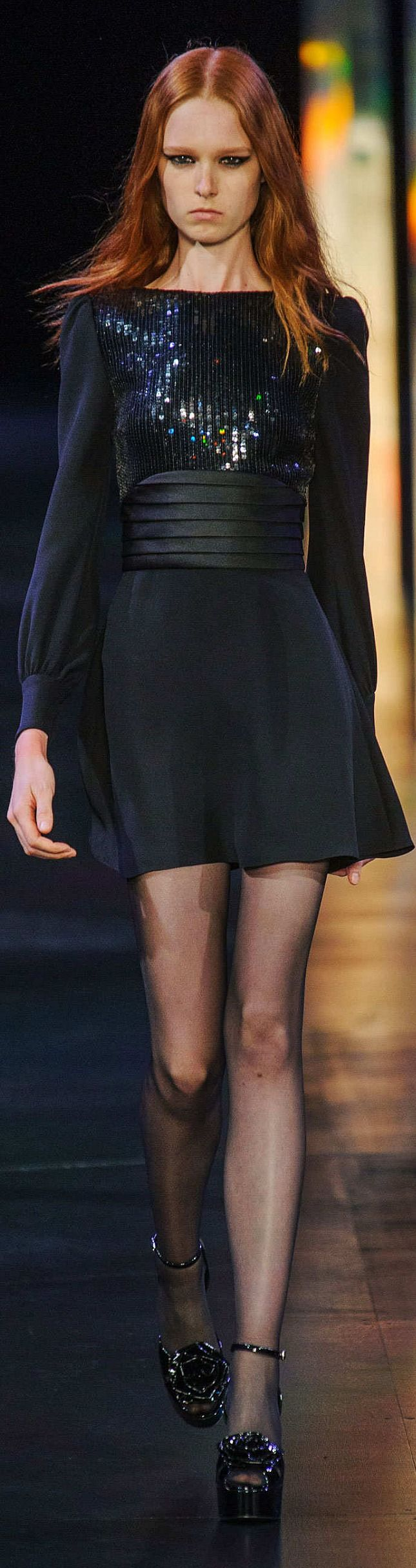 Saint Laurent Collection Spring 2015   The House of Beccaria~   Please follow along with me