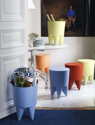 New Bubu 1er Stool - Opaque Soft grey by XO