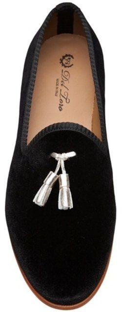 Fancy - Del Toro Shoes Tassel Slipper in Black for Men   Lyst