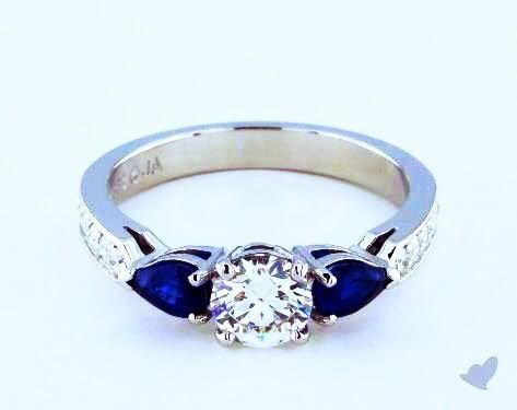 Happy 1st day of September! Celebrate the new season with SAPPHIRES, the September birthstone! #TuesdayTrends #jamesallenrings #sapphire