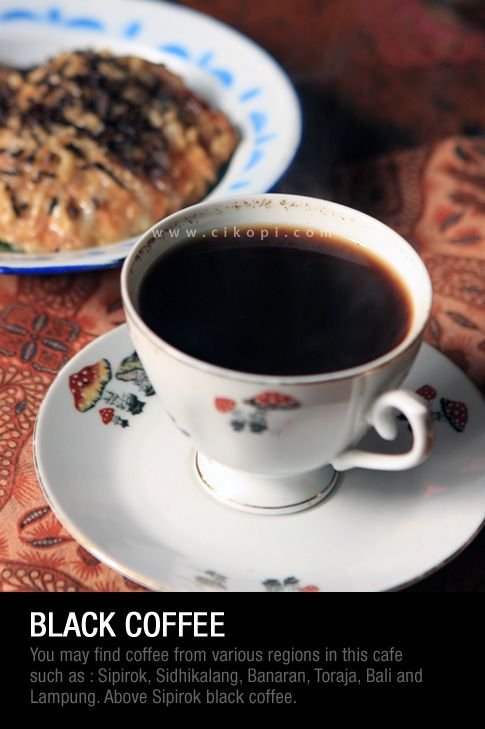 Indonesian Black Coffee