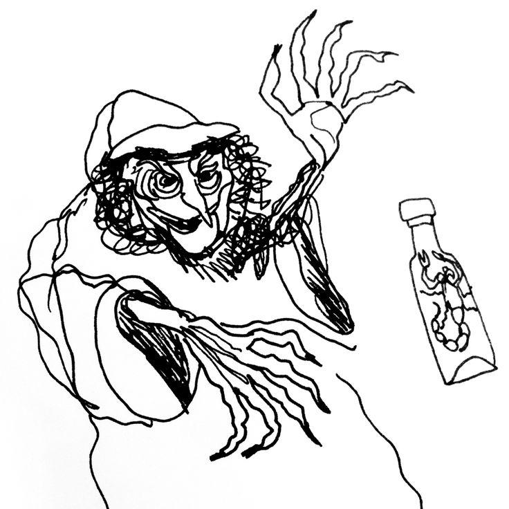 Witchcraft by Marie Åhfeldt - Mås Illustra
