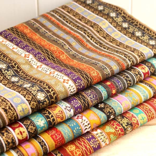 ethnic vintage apparel sewing print material fabrics for patchwork cotton knit textiles cotton linen fabric meter cloth tissu-in Fabric from Home, Kitchen & Garden on Aliexpress.com   Alibaba Group