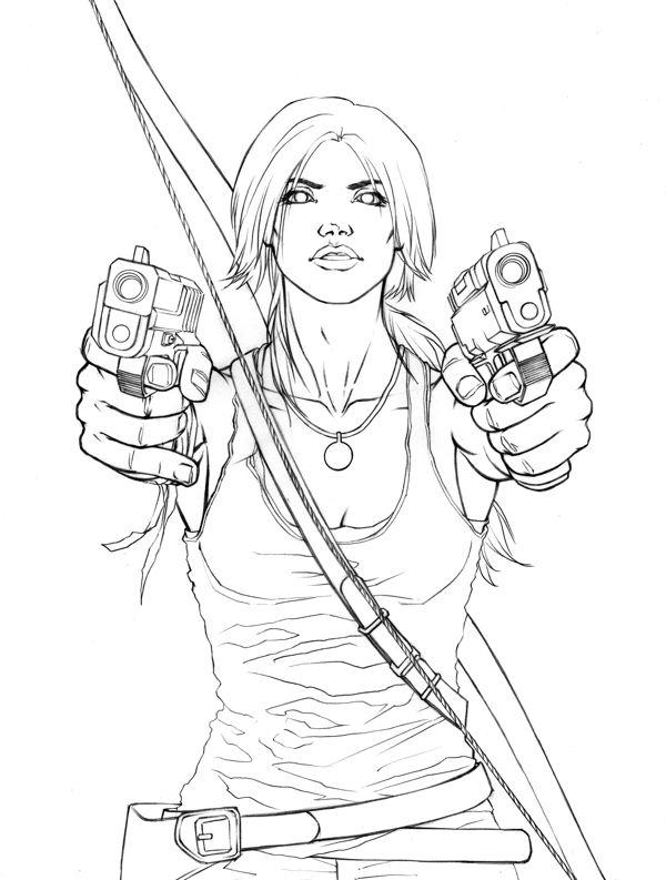 Lara Croft Tomb Raider. Found on Google...