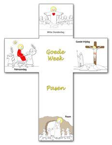 Kruis Goede Week en Pasen (VP600)