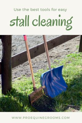 Pro Equine Grooms - Stall Cleaning Tools and Tips!