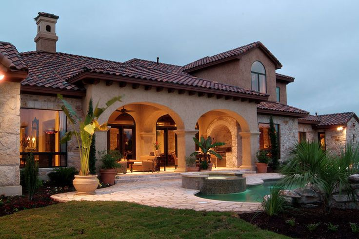 25 best ideas about mediterranean house plans on