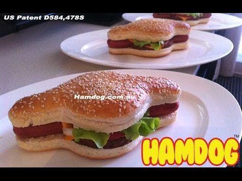 ¿Te imaginas comerte una hamburguesa y al mismo tiempo un perrocaliente? Conoce el Hamdog | El Mostacho
