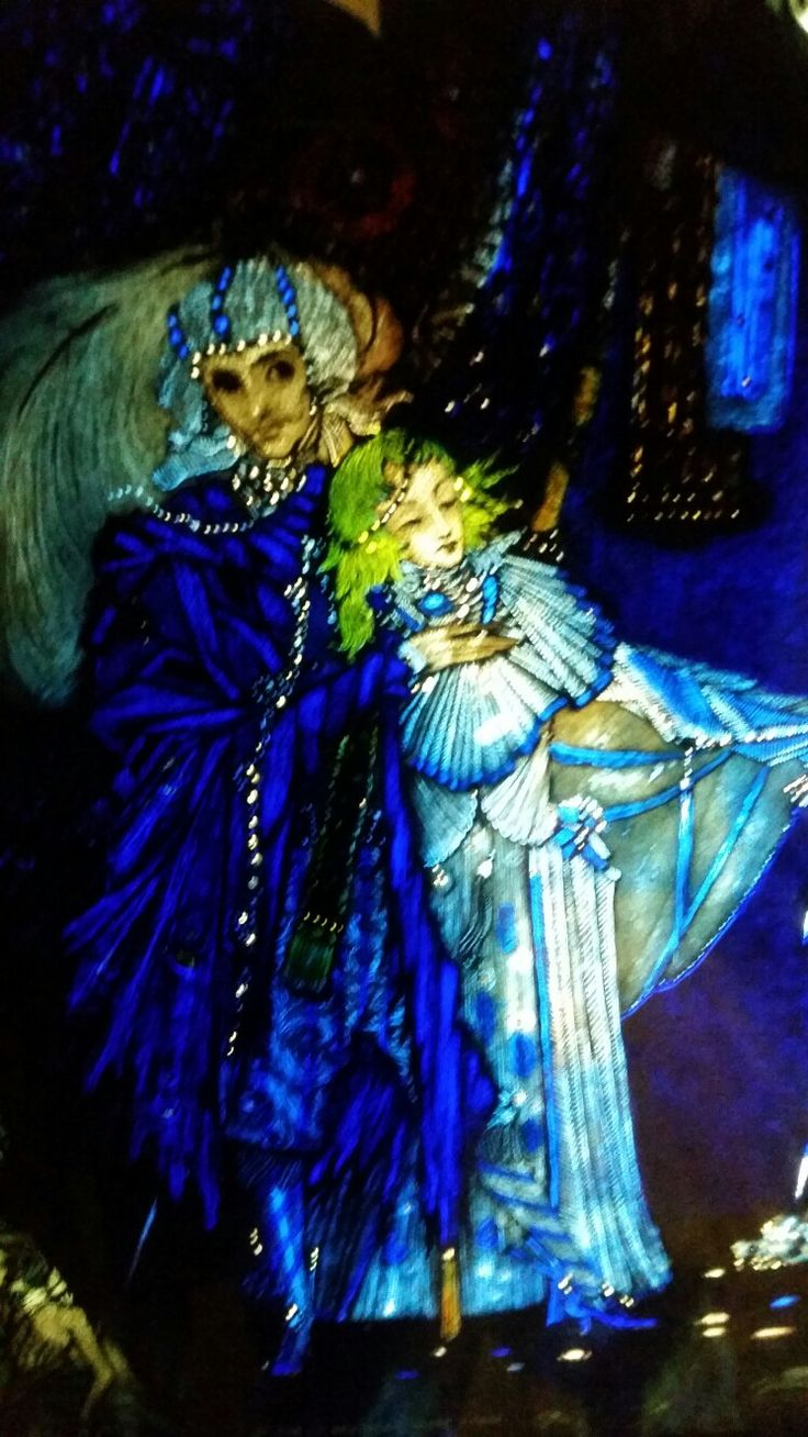 The Eve of St Agnes by Harry Clarke - Don't worry, I'll look after you. You're not that drunk.