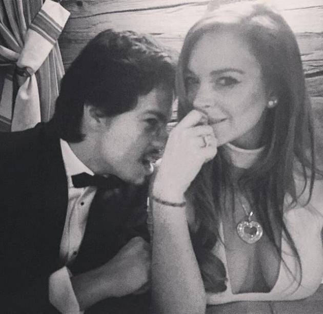 Lindsay Lohan: Is Her Boyfriend LYING About Being a Billionaire?!