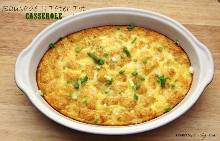Sausage & Tater Tot Casserole | Breakfast/brunch | Pinterest
