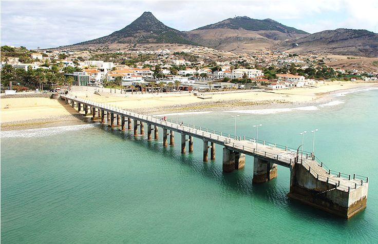 Porto Santo peer #Portugal #Madeira