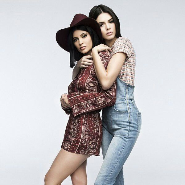 Kendall and Kylie Jenner for PacSun Spring 2016 Collection.
