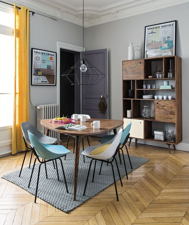 relooking salle manger pas cher rideaux en lin manger et lin lav. Black Bedroom Furniture Sets. Home Design Ideas