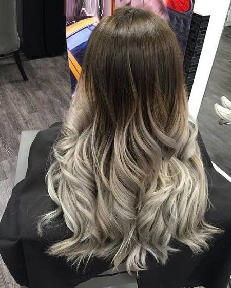 M s de 25 ideas fant sticas sobre cabello color ceniza en for Color marmoleado para cabello