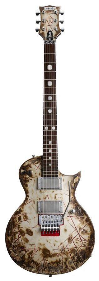 ESP RZK-II Richard Z Signature Electric Guitar | Distressed & Burnt