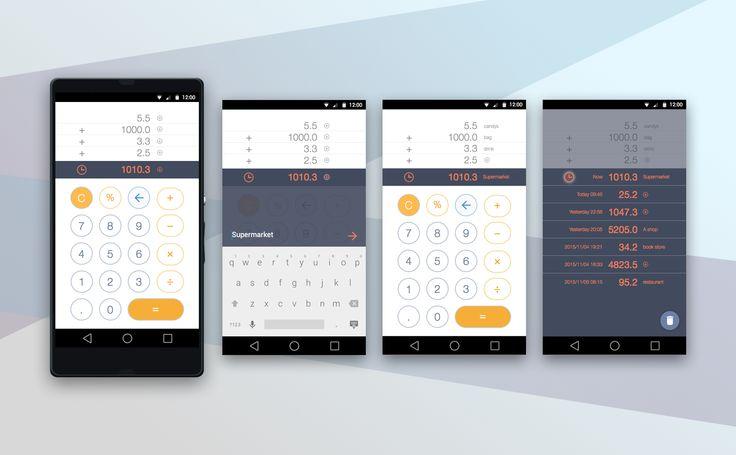 Calculator #dailyui #004