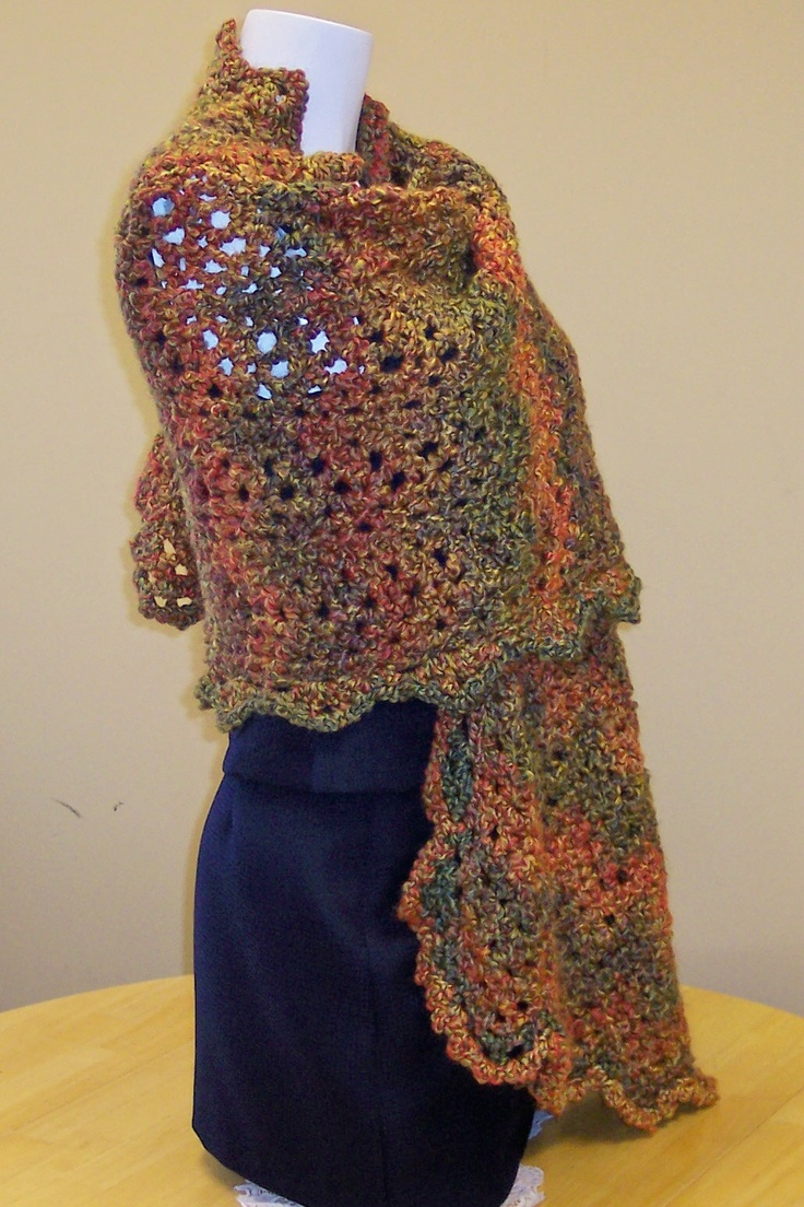 This shawl went to a special lady in CA - read our blog about Memories prayer shawl ministry!  http://hendersonmemories.blogspot.com/2012/09/prayer-shawl-ministry-peace-love-crochet.html