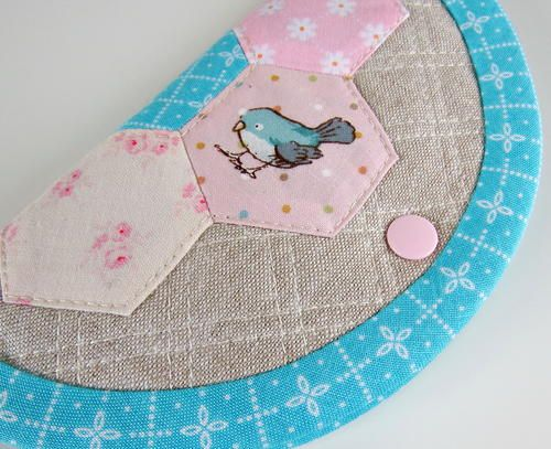 Very Hexie Needle Book | AllFreeSewing.com