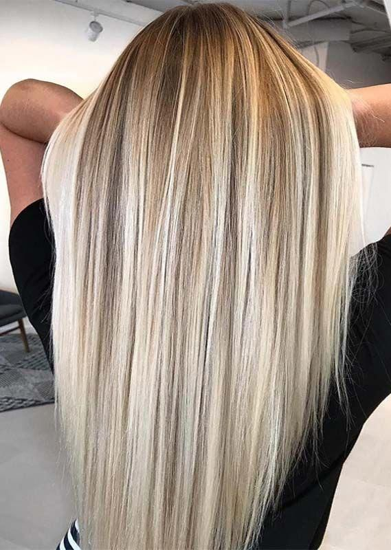 Really natural looking balayage hair colors highlights for long hair to try nowadays. Just explore here and try one of the best balayage hair colors f...