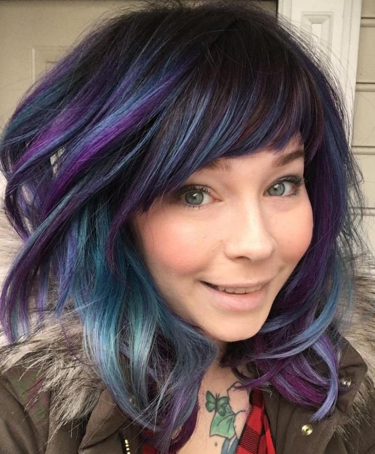 Best 25 black hair purple highlights ideas on pinterest purple best 25 black hair purple highlights ideas on pinterest purple balayage dark hair with purple and black purple ombre pmusecretfo Images