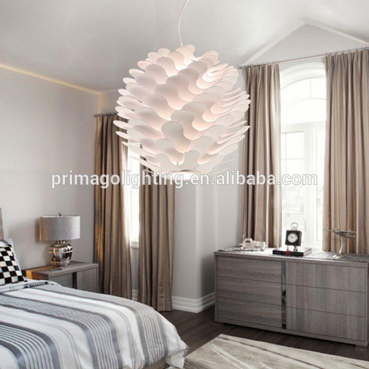 Weiß zart Zirbeldrüse lampe pendelleuchte schlafzimmer/hotel ...