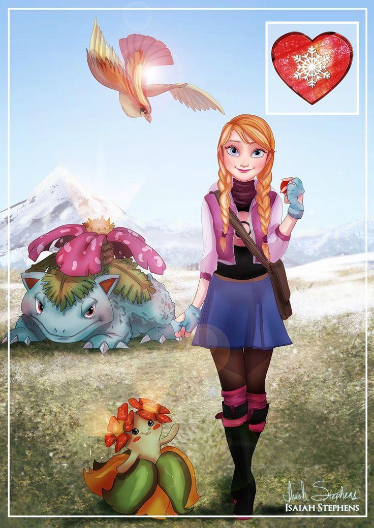 Pokemon/Frozen Crossover